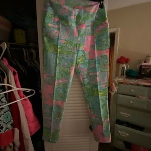 Lilly pulitzer corso pants luxetic